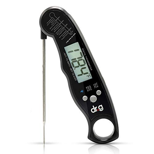 Your Physician's Recommended – Digital-Instant Read-Accurate-Water Proof-℉/℃ Switchable-Eco Friendly Thermometer With Back light-For Meat, Tea, BBQ, Grill, Candy, Milk, Indoor/Outdoor Cooking