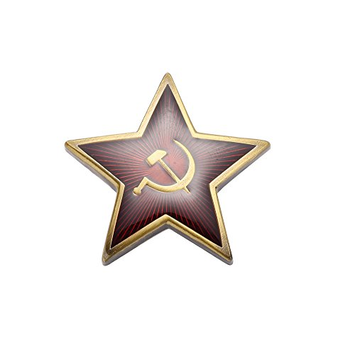(CCCP Red Star Pin Ussr Badge of Soviet)