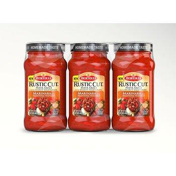 Bertolli Rustic Cut Pasta Sauce, (3 pk./23 oz.) x6 AS