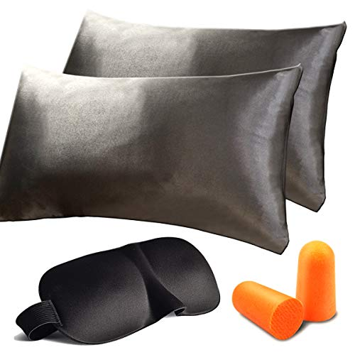 Amazon.com: QINMAN Satin Pillowcase Good For Hair Cool And