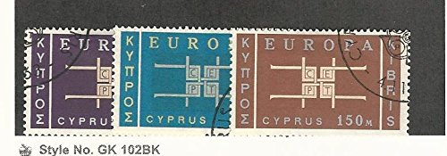Cyprus, Postage Stamp, 229-231 Used, 1963 Europa