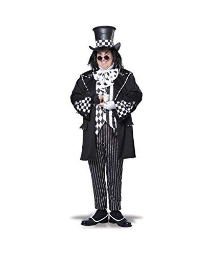 California Costumes Men's Plus-Size Dark Mad Hatter From Alice In Wonderland In Plus, Multi, Plus Size