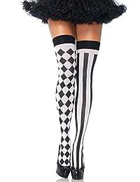 Leg Avenue Women's Harlequin Thigh Highs