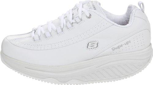 Skechers for Work Women's Shape Ups Slip Resistant Sneaker,White,10 M US by Skechers (Image #5)