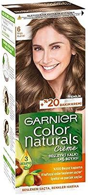 Garnier Color Naturals Sac Boyasi 6 Koyu Kumral Amazon Com Tr