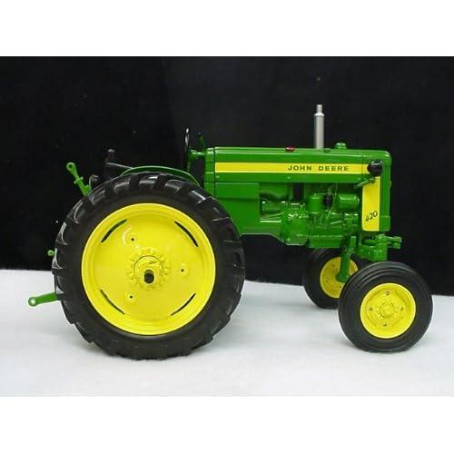 1/16 John Deere 420V tractor, `03 Two...
