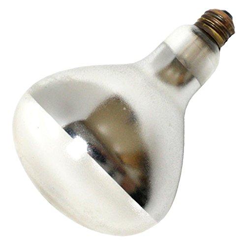 Norman 37540 - PFA-375-R40-1 375W R40 heat lamp, PFA coated Heat Lamp Light -