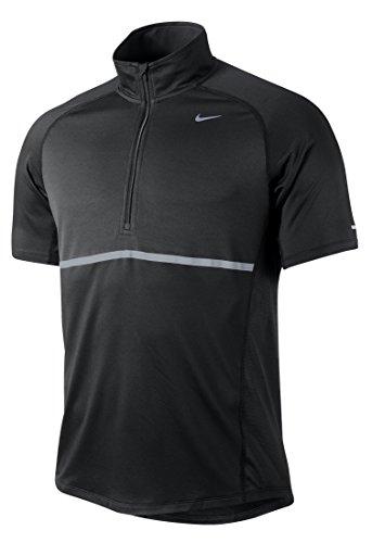 Nike Swoosh Mini–Pallone, misura 3 Porpora/Nero