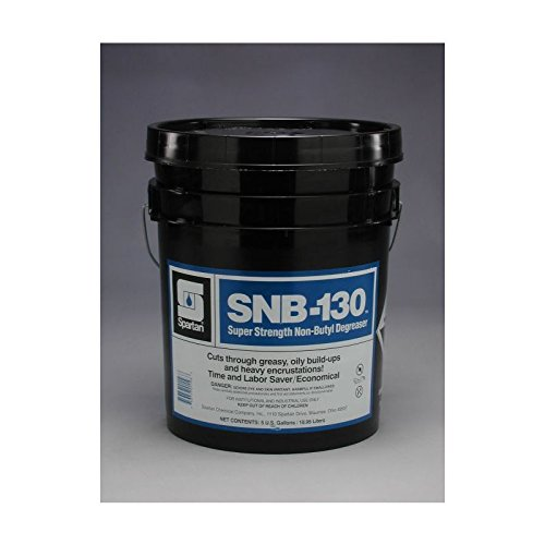 Spartan SNB-130 Industrial Cleaner/Degreaser, 5 gal Pail by SPARTAN