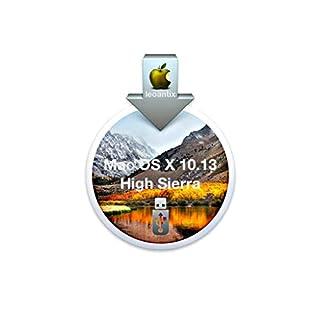 MacOS Mac OS X 10.13 High Sierra USB Drive Full Install Installer Update Upgrade Recover Restore Backup
