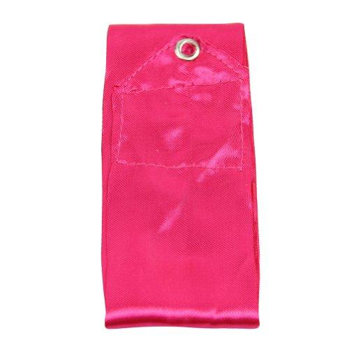 Estone® 4M Gym Dance Ribbon Rhythmic Art Gymnastic Streamer Twirling Rod Stick 11 Colors (Hot Pink)