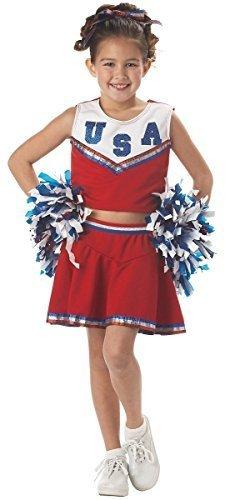 California Costumes Patriotic Cheerleader -