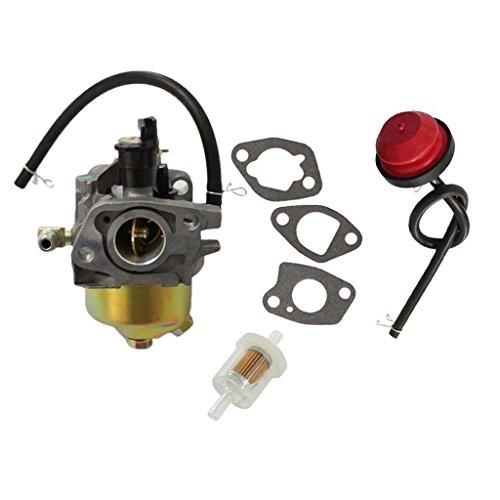 HURI Snow Blower Carburetor Fuel Filter Primer Bulb for MTD Troy Bilt Cub Cadet Yard Machine 951-14026A 951-14027A 951-10638A