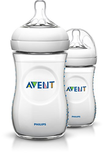 Philips Avent SCF693/27 Naturnah-Flasche 260ml, 2er-Pack, transparent