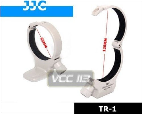 Rainbowimaging TR1 Tripod Collar Mount Ring for Canon EF 70-200mm f/4L, 300mm F4 USM and 400mm F5.6 USM (White)