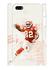 Wonderful Series Cell Phone Case Athletic Man Football Athlete Pattern Anti Scratch Case Cover for Iphone 5 5s (XBQ-0152T)