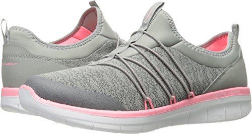 Skechers Sport Women's Synergy 2.0-Simply Chic Sneaker,gray pink,6.5 M US