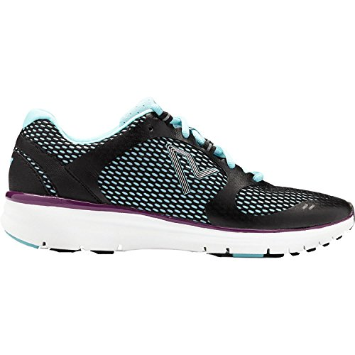 Vionic Womens Vio-Nrg Elation1.0 Laceup Sneaker Black/Teal Size 11