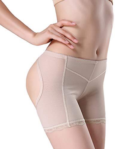 e9eee6146d04 Women's Butt Lifter Body Shaper Control Enhancer Panties Lace Shapewear  Seamless Briefs Figure Boyshorts Booty Nude