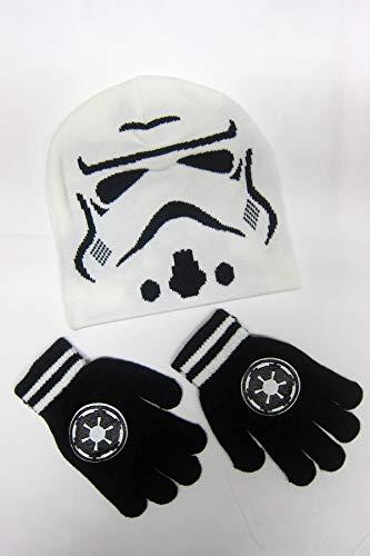 Star Wars  Storm Trooper Winter Beanie & Glove Set ()
