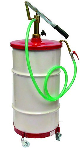National-Spencer 1209 Gear Lube Pump with Hose, Dolly and Cover for 16 gal Drum by National-Spencer, Inc.