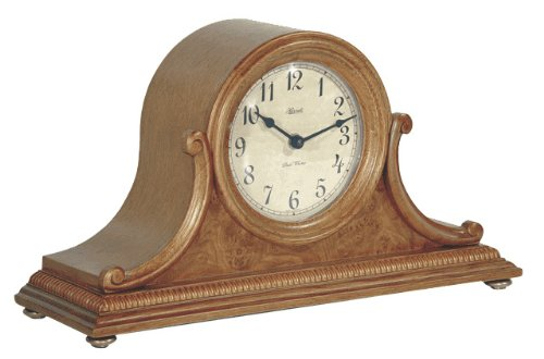 antel Clock in Oak Sku# 21132I92114 (Hermle Mantel Clock)