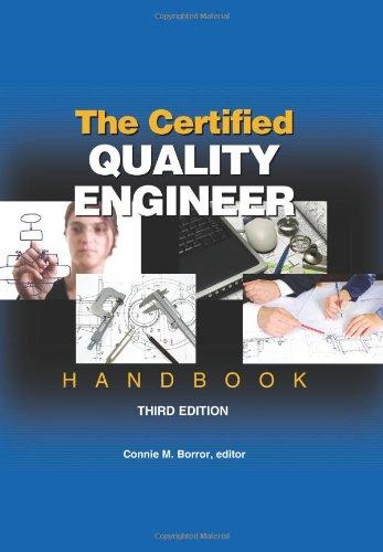 The Certified Quality Engineer Handbook, Third Edition