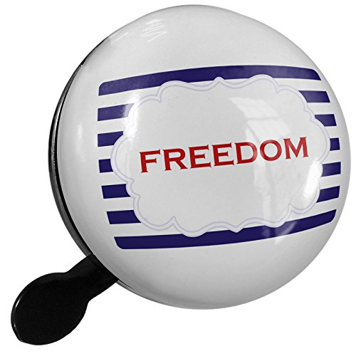 Small Bike Bell Freedom Fourth of July Blue Stripes - NEONBLOND by NEONBLOND
