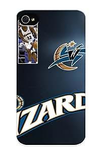 DYRGLa-1489-uJHrf New Premium Flip Case Cover Washinn Wizards Nba Basketball (27) Skin Case For Iphone 4/4s As Christmas's Gift