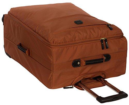 Bric's X-travel Trolley Orange/Brown