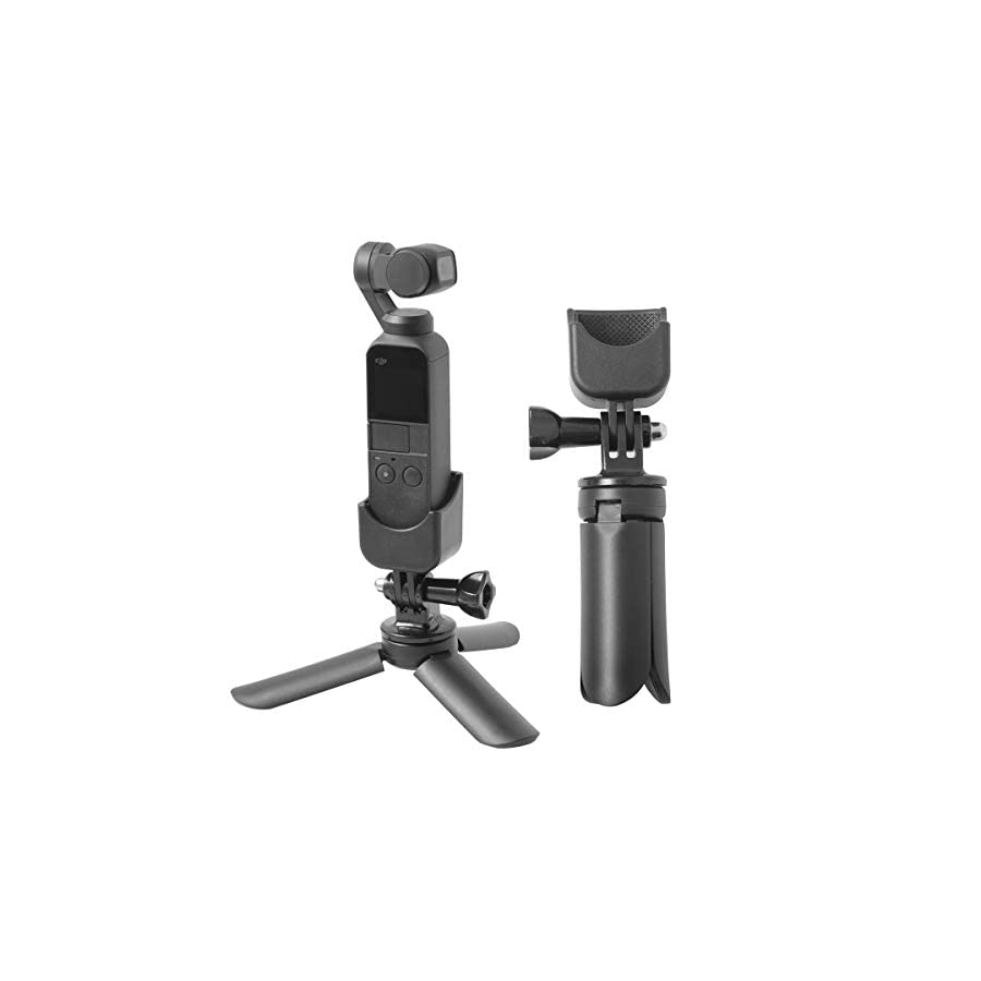"""Aboom Time-Lapse Photography Tripod Mount Stand Expansion Kit for DJI Osmo Pocket with 1/4"""" Thread Multi-Function Expansion"""