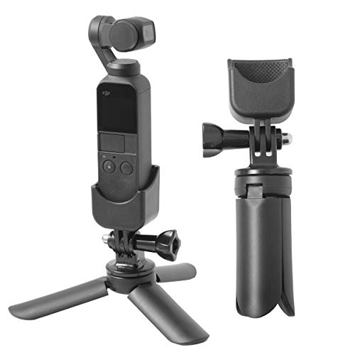 "Aboom Time-Lapse Photography Tripod Mount Stand Expansion Kit for DJI Osmo Pocket with 1/4"" Thread Multi-Function Expansion"