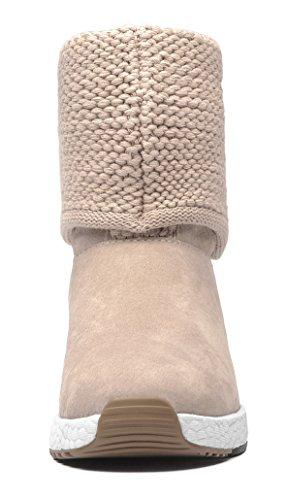 Snow Sand Aries Textile Boots Aumu Knit Series Cotton Bw64nBq0X