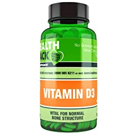 Vitamin D3 250 Tablets NHS Recommend Daily Amount 1000IU (25μg) per Tablet, Micro Tablets Easy to Swallow
