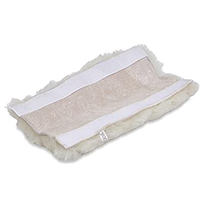 ANDALUS Seat Belt Covers for Adults and Kids, Authentic Sheepskin Merino Wool, Pearl: Automotive
