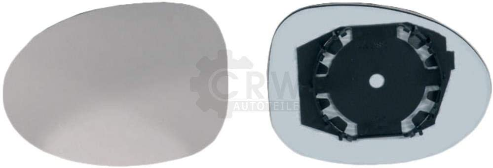 C06/_ konvex Au/ßenspiegel Spiegelglas Haltefuss rechts f/ür TWINGO