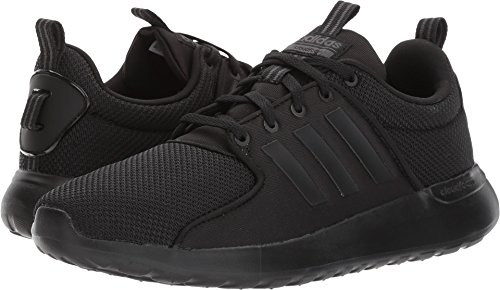 adidas Performance Men's CF Lite Racer Running Shoe, Black/Black/Utility Black, 11 Medium ()