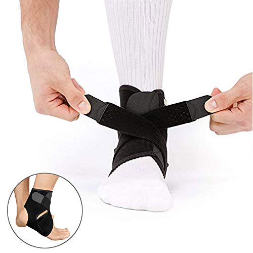 Vicious Teknology Ankle Brace,Ankle Support, Ankle Protection from Strain in Fitness Equipment,Running Exercise,Hiking Camp,Ping Pong,Badminton for Men & Women,Sold as Single Unit