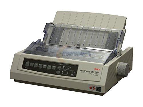 OKIDATA 62411602 - ML320 TURBO 230V - MONO - DOT-MATRIX PRINTER - 9-PIN PRINTERHEAD