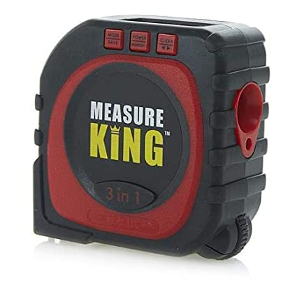 SOCHEP Digital Tape Measure,Newest 3 in 1 LED Digital Display Laser Measure King All and Any Surfaces