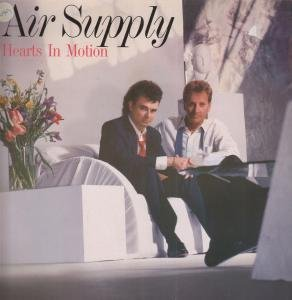 HEARTS IN MOTION LP GERMAN ARISTA 1986 11 TRACK WITH INNER BUT HAS STICKER,STICKER TEAR AND SMALL PEN MARK ON SLEEVE -
