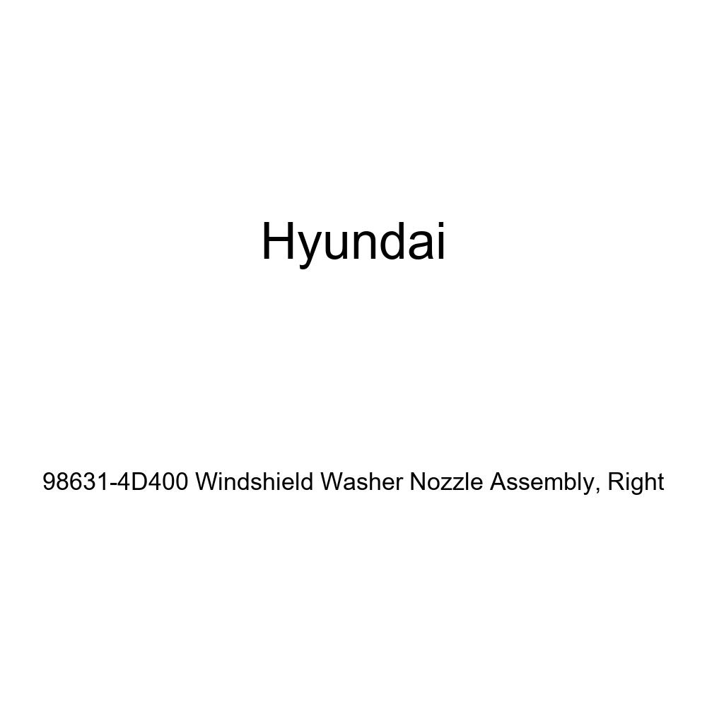 Right Genuine Hyundai 98631-4D400 Windshield Washer Nozzle Assembly