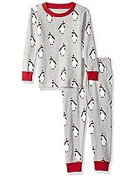 Amazon Essentials Baby-Girls Baby Baby 2-Piece Pajama Set