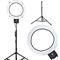 Diva Ring Light Super Nova 18 Dimmable Photo/Video Light with 6 Light Stand