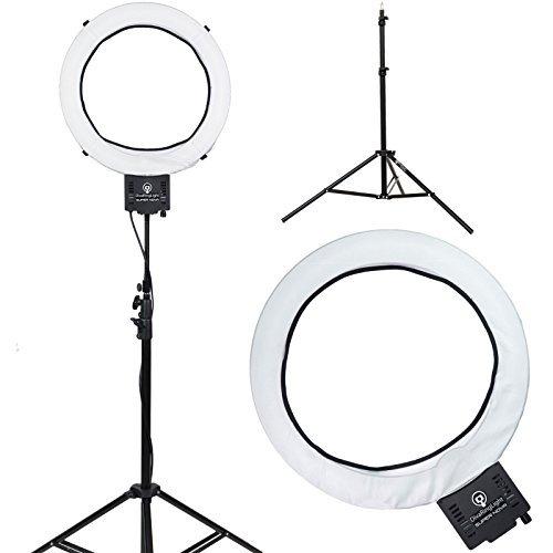makeup light stand. diva ring light super nova 18\ makeup stand a