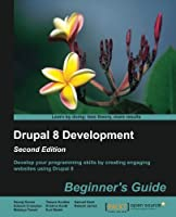 Drupal 8 Development: Beginner's Guide, 2nd Edition Front Cover