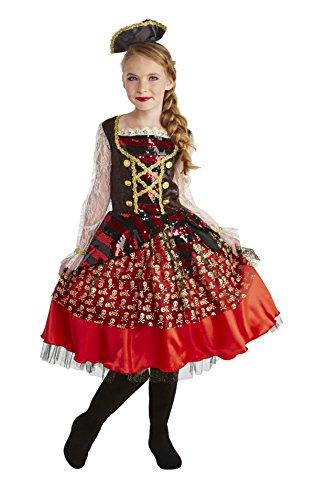Best Wolf Costume (Happy Haunts On the Deck Pirate Costume, Medium)