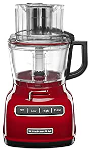 KitchenAid KFP0933ER 9-Cup Food Processor with Exact Slice System - Empire Red