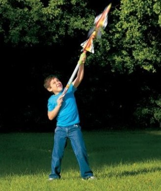 (Cloud Busters Tube Jet Toy Jet Launcher Flies up to 50 Feet )