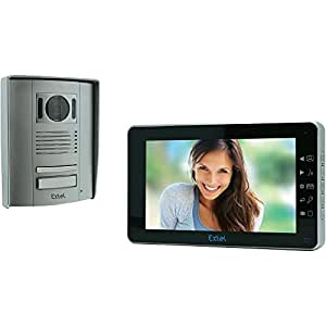 CFIEX Extel Memo 2 - Portero automático con vídeo a color (2 cables, pantalla de 7'')